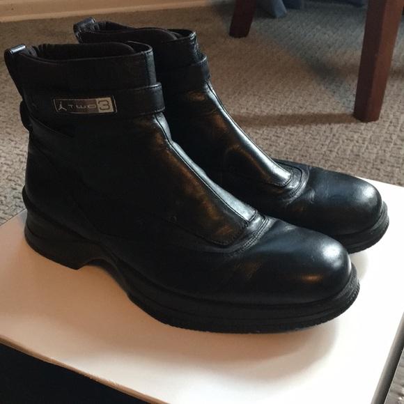 new style cbf2b feeea ... Air Jordan Two3 Dress Boots, Black, 9. M 5b2fb67c03087cfc5286cefd